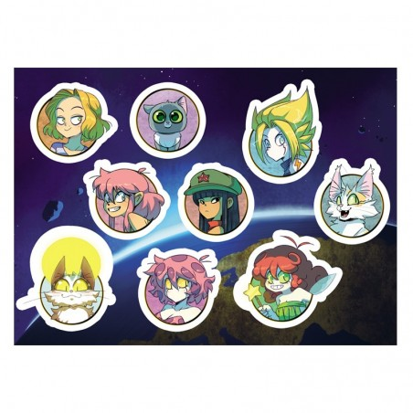Stickers personnages