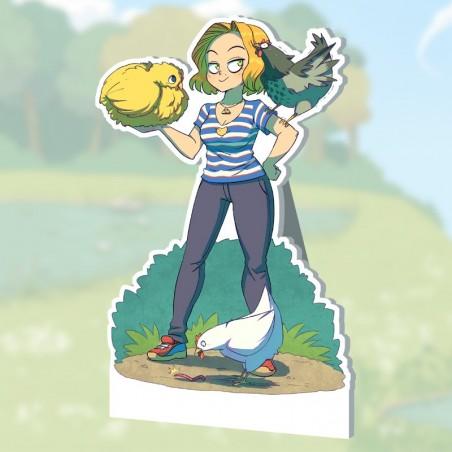 PLV Becky et ses poules