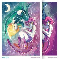 Ex-libris Aqua girls