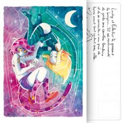 Carte Postale Aqua girls