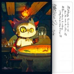 Carte Postale Potion magique