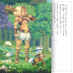 Carte Postale Mythofolies 1/6