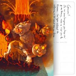 Carte Postale Mythofolies 2/6