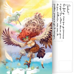 Carte Postale Mythofolies 4/6