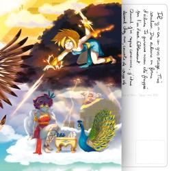 Carte Postale Mythofolies 6/6