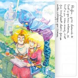 Carte Postale Skyward